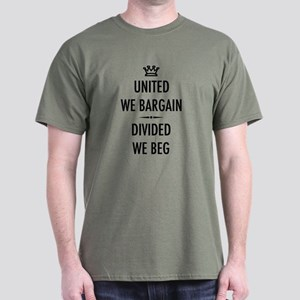 Bargain or Beg Dark T-Shirt